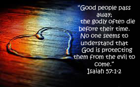 Isaiah 57 1-2